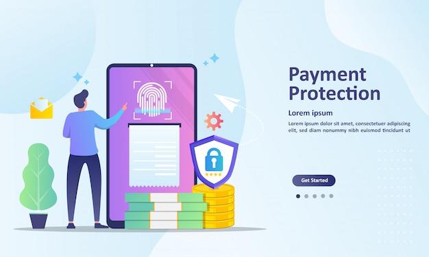 Salvando o modelo de página de destino de informações de dinheiro