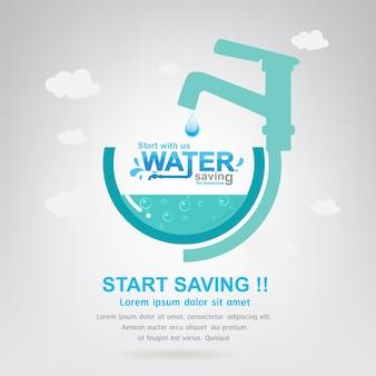 Salvar a vida do conceito da água