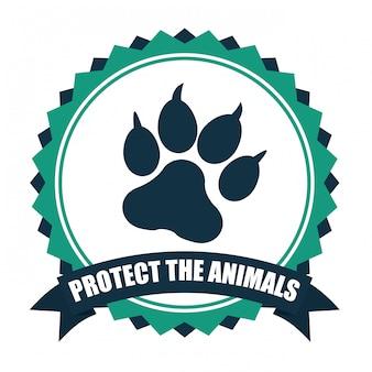 Salvar o design de animais