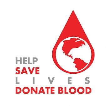 Salvar vidas e doe sangue