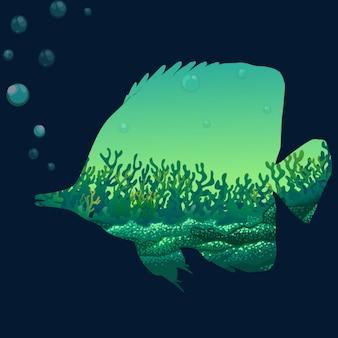 Salve a vida selvagem com peixes