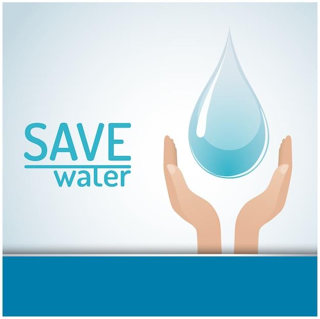 Salve o conceito de água