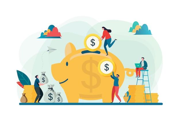 Salve o conceito de dinheiro.