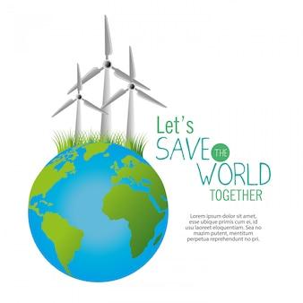 Salve o modelo mundial