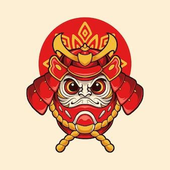 Samurai daruma