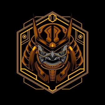 Samurai robótico ronin