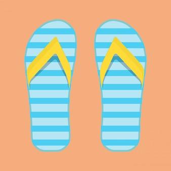 Sandálias flip flop