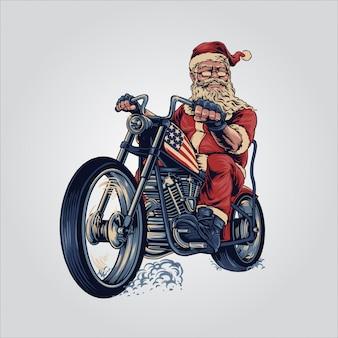 Santa chooper