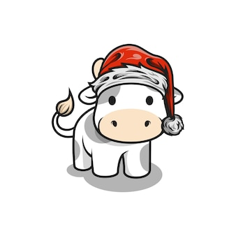 Santa cow design