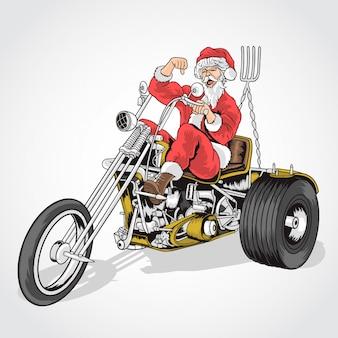 Santa grande bicicleta de cooper