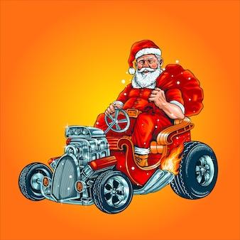 Santa hodrod