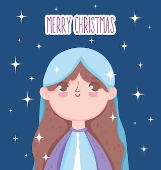 Santa maria manjedoura natividade, feliz natal