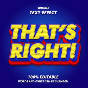 São os efeitos de texto certos