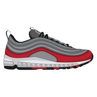 Sapatilhas de design de calçados esportivos