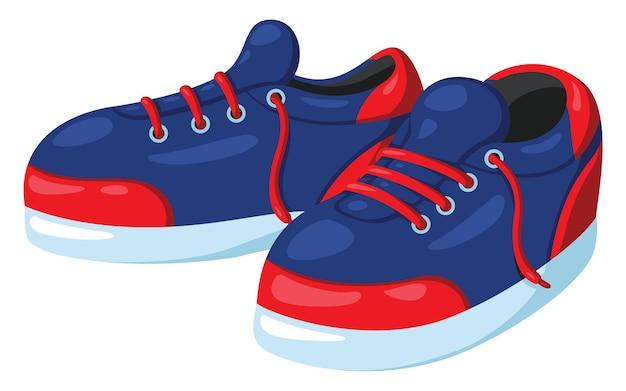 Sapatos bonitos dos desenhos animados