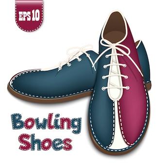 Sapatos de boliche - ícone.