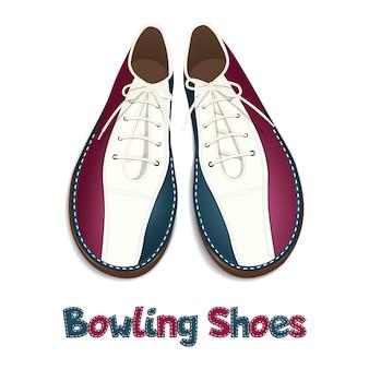Sapatos de boliche.