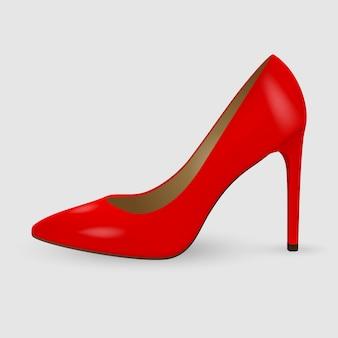 Sapatos de mulheres realistas
