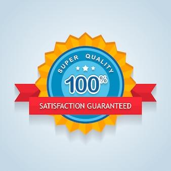 Satisfação garantida