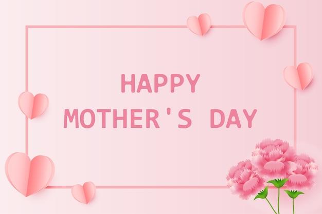 Saudação cartão feliz dia das mães