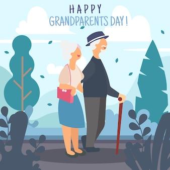 Saudação do dia dos avós