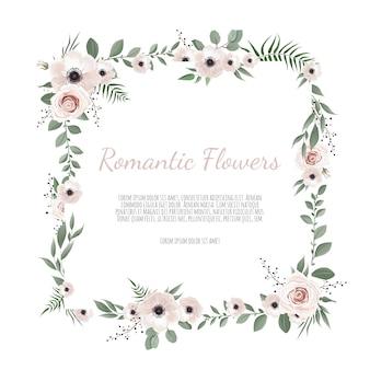 Saudação, modelo de convite de casamento de cartão postal.