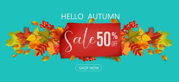 Saudações e presentes para o conceito de outono e outono