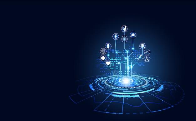 Saúde ciência médica saúde digital tecnologia ciência
