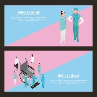 Saúde de pessoas médicas