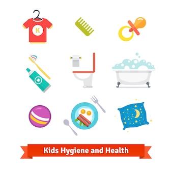 Saúde e higiene dos miúdos