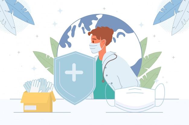 Saúde humana proteção de vida seguro médico