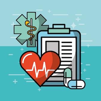 Saúde médica relacionada