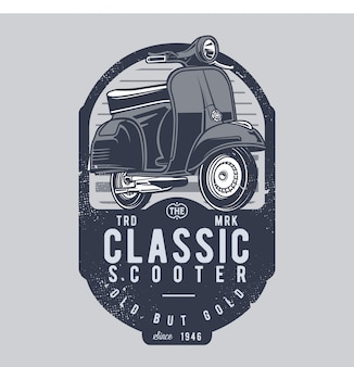 Scooter clássica