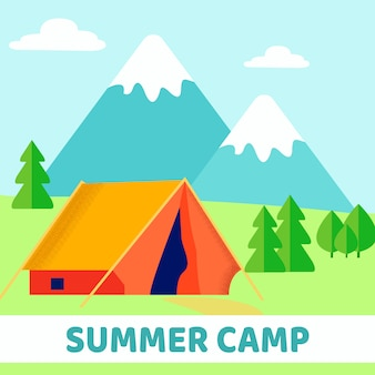 Scout summer camp