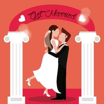 Se casar noivo noiva