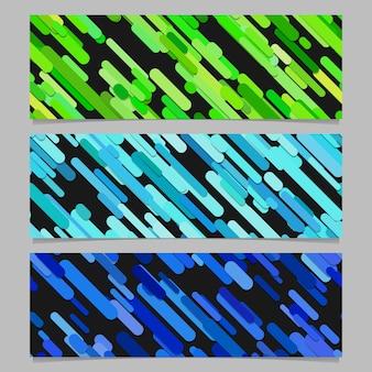 Seamless colorido aleatório, diagonal, listra, padrão, bandeira, fundo, design, conjunto
