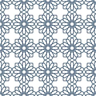 Seamless delicate seamless pattern em estilo árabe