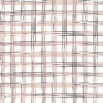 Seamless gingham xadrez pattern cottagecore cores pastel desenho sobre fundo branco