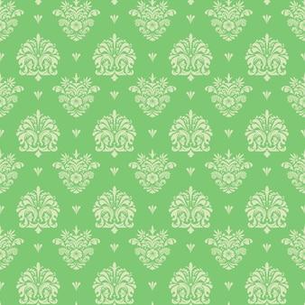 Seamless vintage pattern, vector seamless retro background