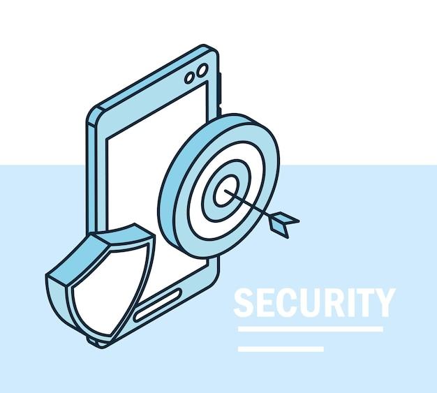 Segurança alvo de smartphone