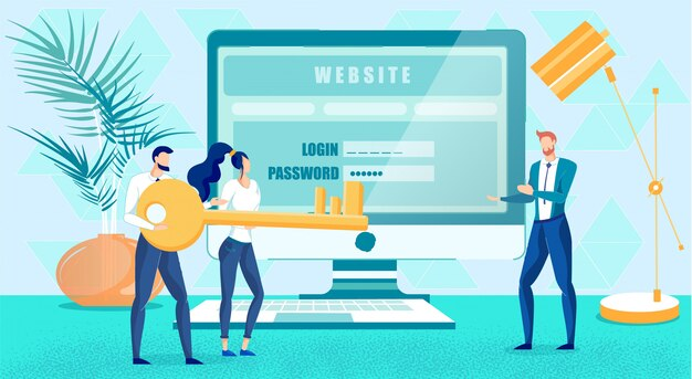 Segurança do site e criação de autorização do usuário
