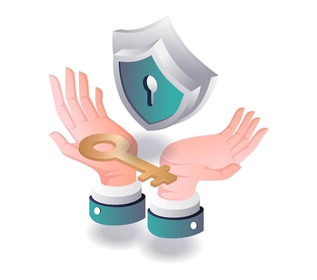 Segurança nas mãos