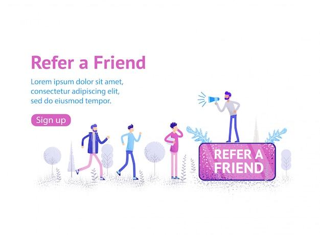 Segurando um telefone, marketing de mídia social.