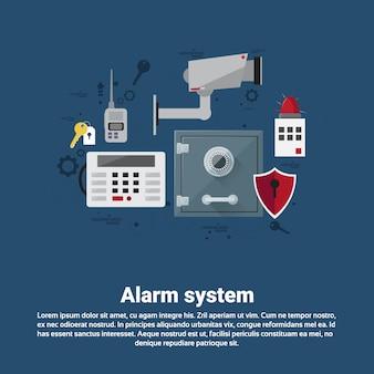 Seguro de proteção de segurança de ladrão de alarme