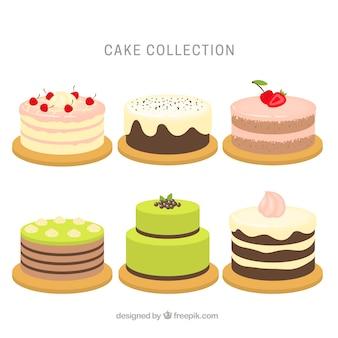 Seis bolos de aniversário saborosos
