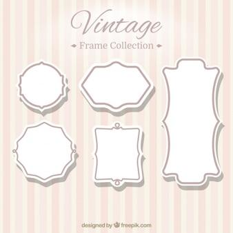 Seis frames do vintage