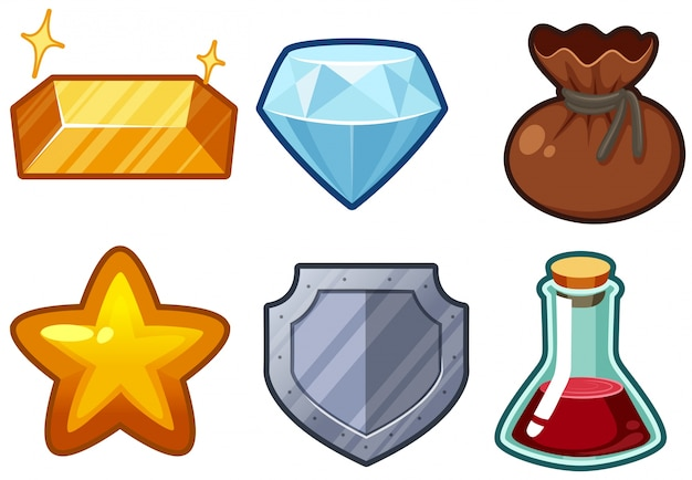 Seis itens com jóias e produtos químicos
