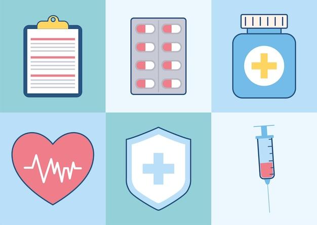 Seis itens de seguro saúde