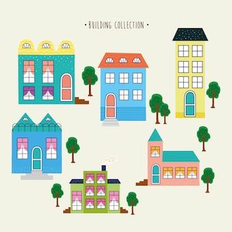 Seis prédios urbanos