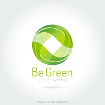 Seja logotipo verde